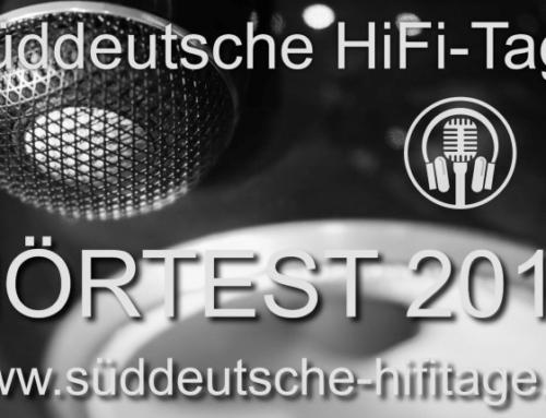 Süddeutsche HiFi Tage in Stuttgart 2018