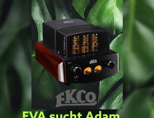 EKCO Audio EVA Röhren Vollverstärker mit DAC / Bluetooth / USB