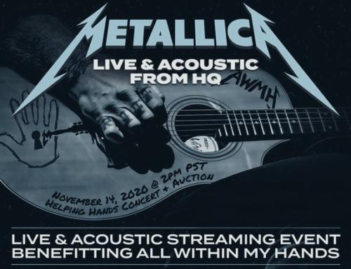 Metallica – Tickets für das Live-Stream Konzert gewinnen!