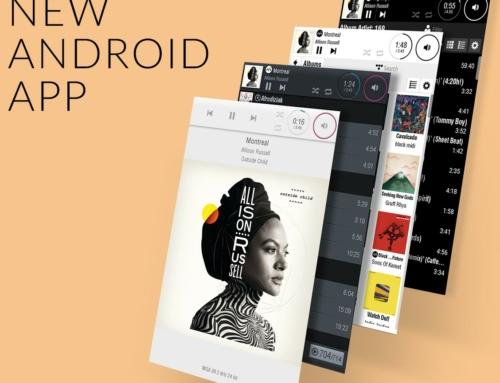 Neue LUMIN App für Android Geräte